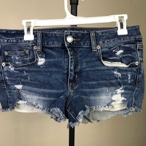 American Eagle Shortie Denim Shorts